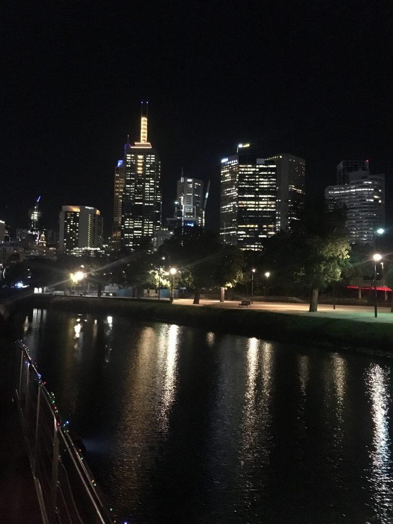 メルボルンシティ夜景
