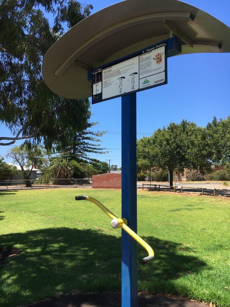 公園トレーニング